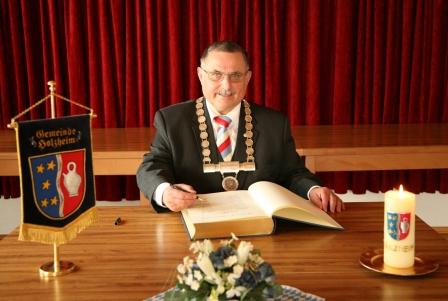 1. Bürgermeister Robert Ruttmann
